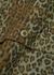 Leopard-print brushed cotton shirt - South2 West8
