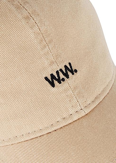 f9da1e451 Wood Wood Taupe cotton twill cap - Harvey Nichols