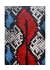 Iphone x-xs snake cobalt-red - The Case Factory