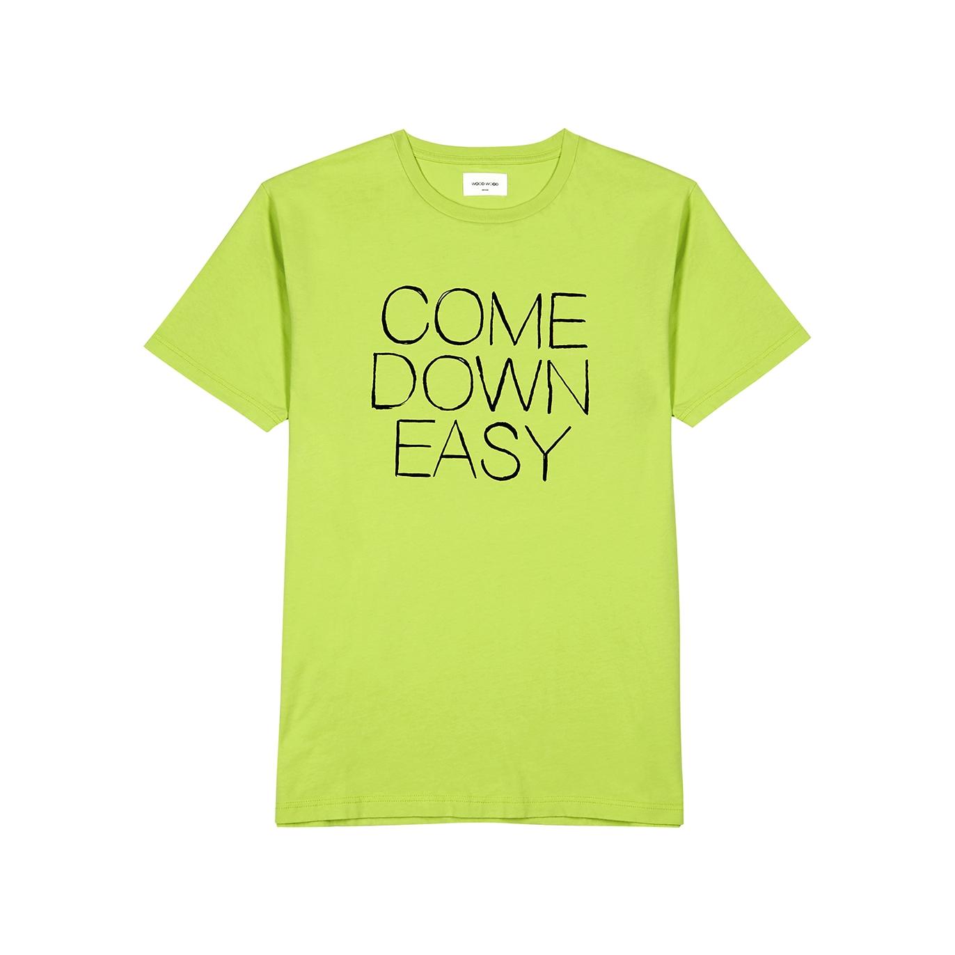 839519cff Wood Wood Come Down printed cotton T-shirt - Harvey Nichols
