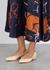 Lauren peach leather ballet pumps - Chloé