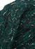 Lula green wool-blend headband - EUGENIA KIM