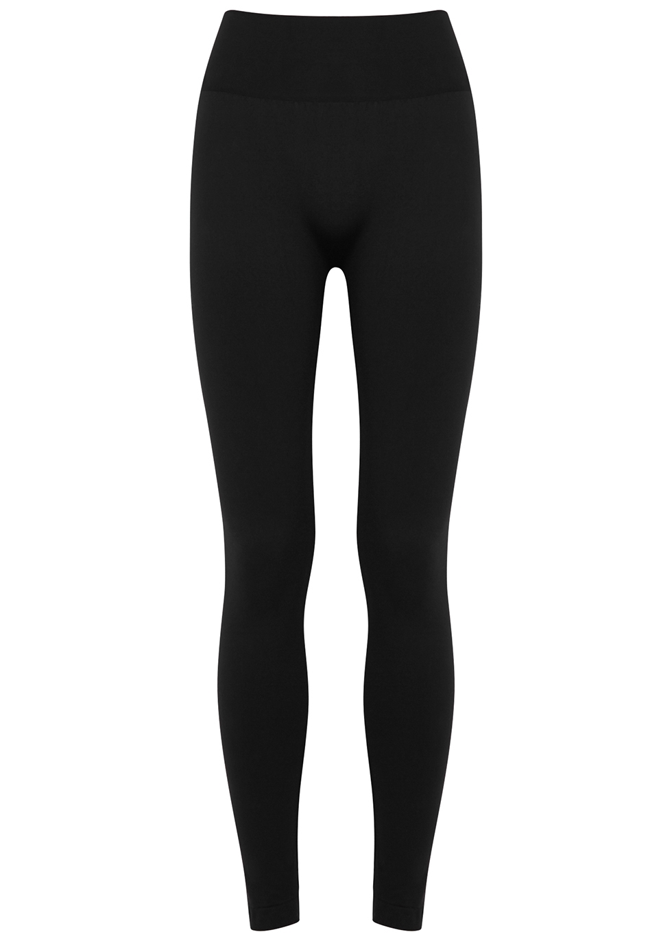 Perfect Fit black stretch-jersey leggings