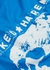 Blue printed cotton T-shirt - Nasaseasons