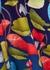 Black floral-print midi dress - Peter Pilotto