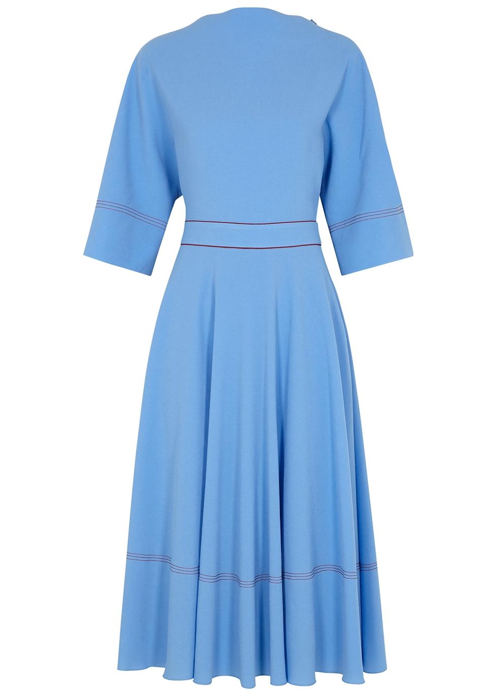 Dara blue midi dress