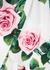 White floral-print leggings - Dolce & Gabbana