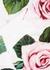 Floral-print cotton-blend bra top - Dolce & Gabbana