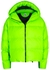Cloud neon green quilted shell jacket - Bacon