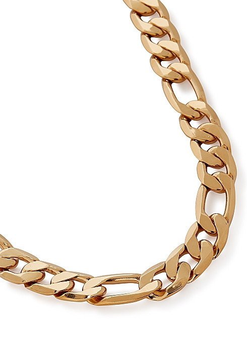 The Landry 14kt gold-dipped chain necklace