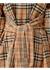 Vintage check silk and cotton shirt dress - Burberry