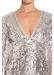 Long sleeve sequin dress - Aidan Mattox