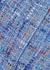 Chain-embellished tweed mini skirt - Balmain