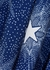 Blue star-print midi dress - Paco Rabanne