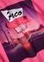Pink motel-print cotton T-shirt - Paco Rabanne