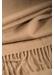 Oversized classic cashmere scarf | camel - Johnstons of Elgin