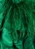 Malachite green printed midi dress - 16 Arlington