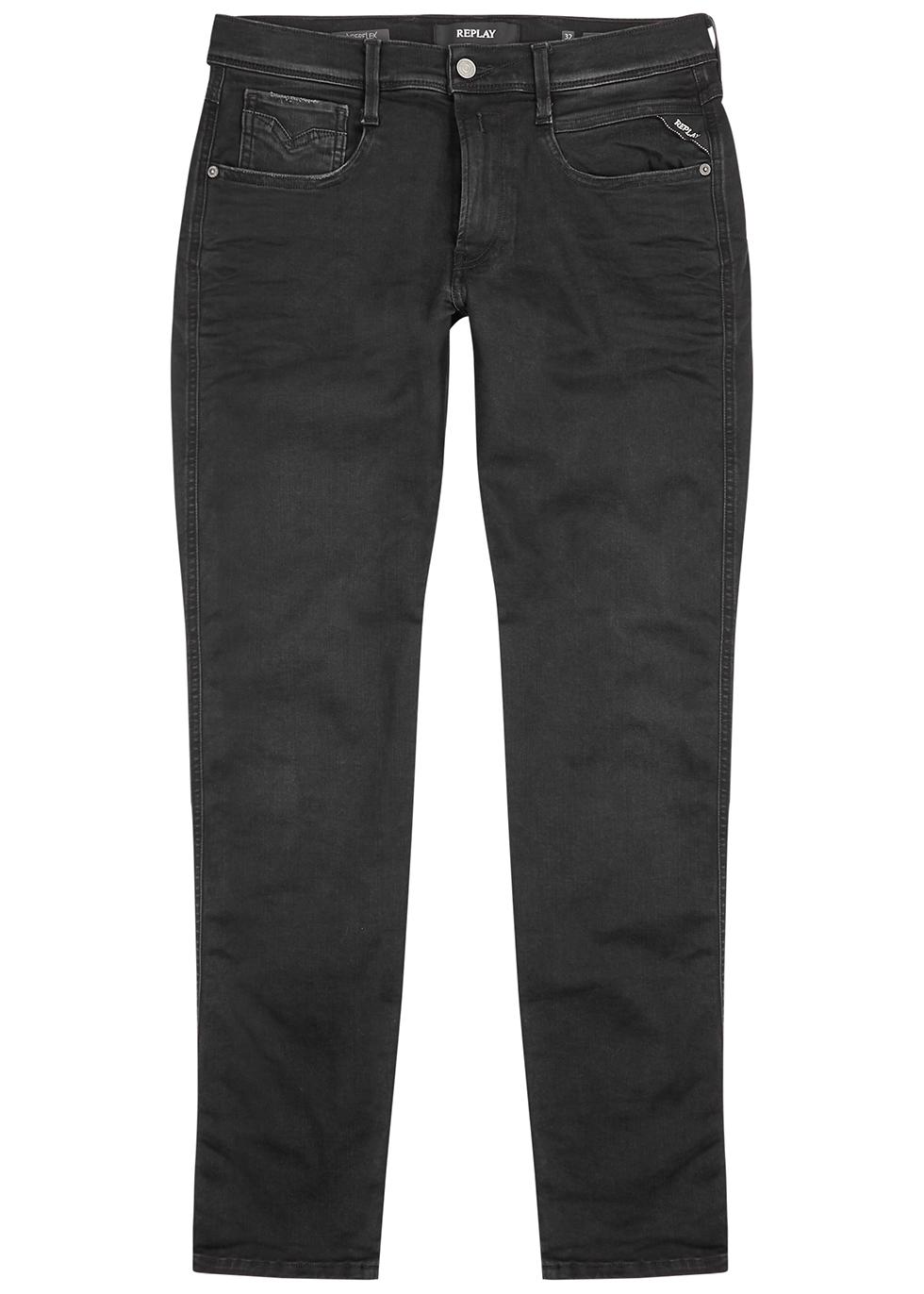 Anbass Hyperflex Clouds slim-leg jeans