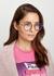 Gold-tone oval-frame optical glasses - Chloé