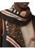 Icon stripe monogram print wool silk square large scarf - Burberry