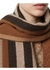Reversible icon stripe cashmere scarf - Burberry