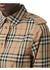 Vintage check stretch cotton drawcord shirt dress - Burberry