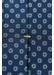 Navy geometric print tie - Eton