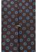 Brown geometric print tie - Eton