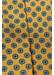 Yellow geometric print tie - Eton