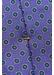 Purple geometric print tie - Eton