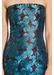 Strapless jacquard dress - Aidan Mattox