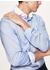 Contrast collar cotton shirt - Hackett