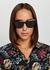 Black cat-eye sunglasses - Balenciaga
