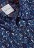 Blue floral-print cotton shirt - Paul Smith
