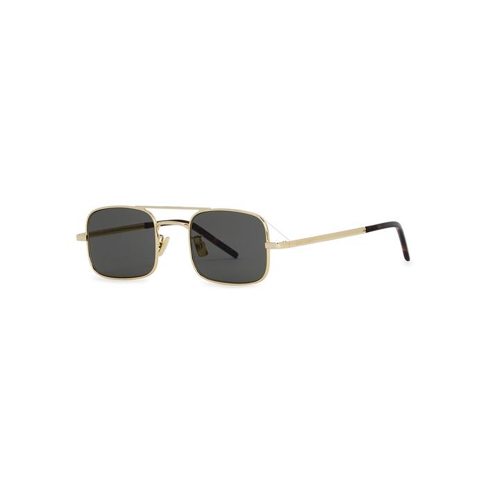 Saint Laurent SL331 Rectangle-frame Sunglasses