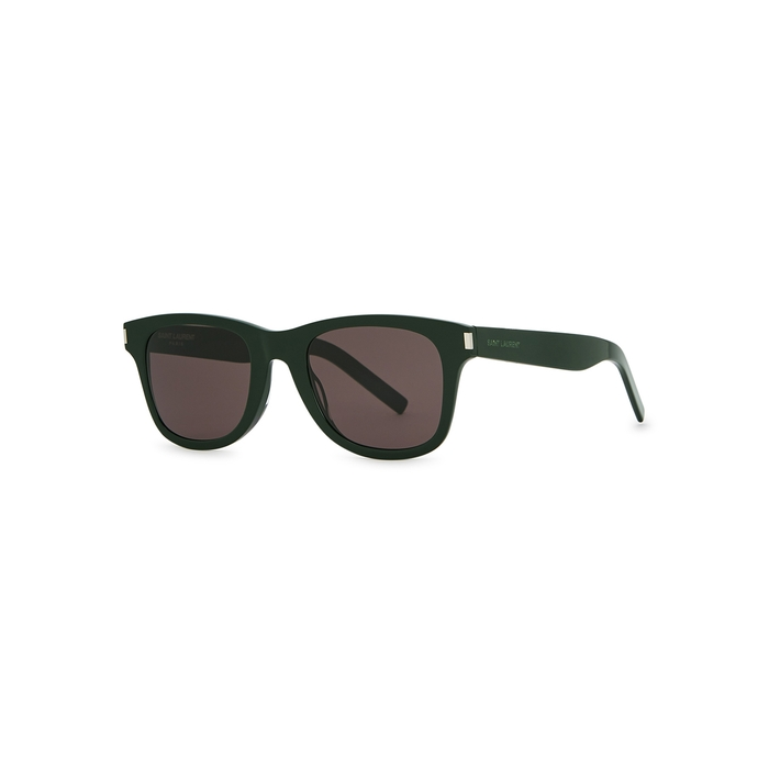 Saint Laurent SL 51 Green Wayfarer-style Sunglasses
