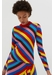 Multicoloured rib-knit cashmere vanessa sweater - Chinti & Parker