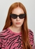 Black cat-eye sunglasses - Stella McCartney