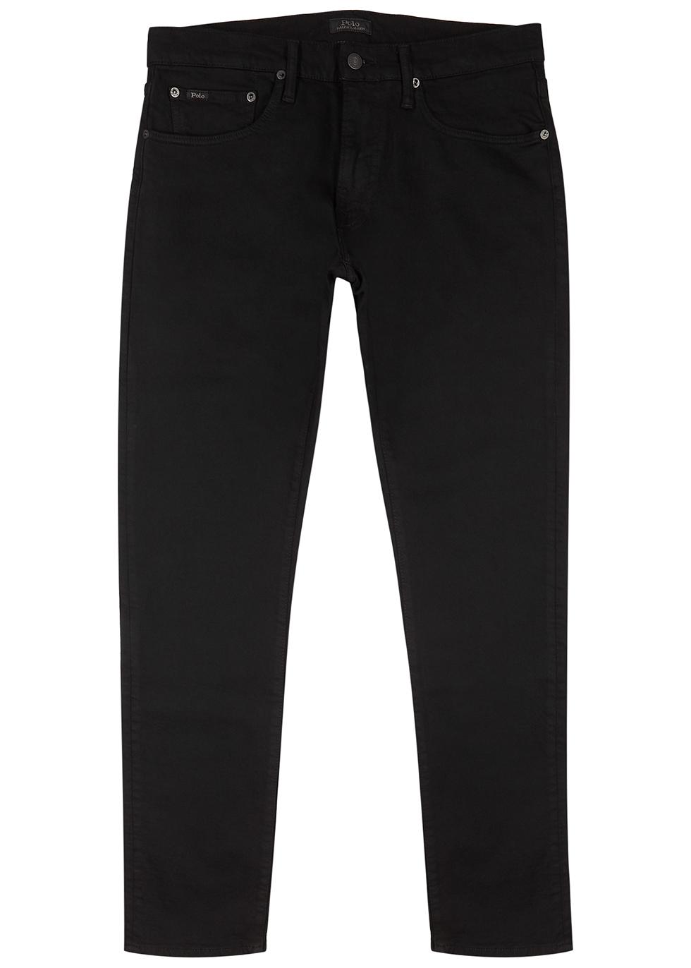 Sullivan black slim-leg jeans