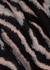 Lorena zebra-intarsia jumper - Gestuz