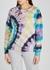 Hugger tie-dye jersey sweatshirt - Mother