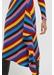 Multicolour rib-knit cashmere vanessa skirt - Chinti & Parker