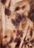 Brown tie-dyed high-neck top - Nanushka