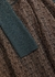 Panelled metallic-knit dress - Chloé
