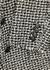 Monochrome bouclé-tweed blazer - Alexander Wang