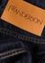 Blue wide-leg jeans - JW Anderson
