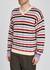 Striped wool jumper - Marni