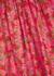 Aida red floral-print blouse - Brøgger