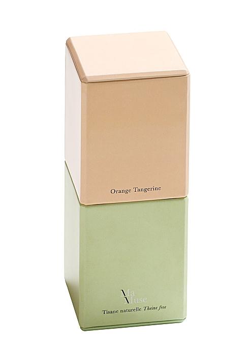 Orange Tangerine Tea Metal Gift Box 40g - MA MUSE