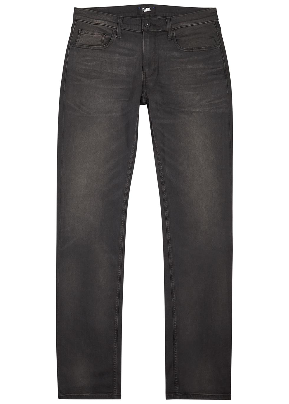 Federal dark grey slim-leg jeans